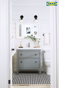60 cool rustic powder room design ideas (24)