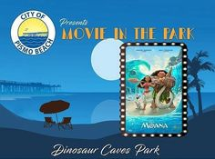 Bring your lawn chairs and blankets and join the City of Pismo Beach for a family fun movie night on May 12th featuring Disney's MOANA!  There will be games food trucks wine hot chocolate popcorn photo ops tricycle races and more!  Activities start at 6:00pm with the movie at 8:00pm.  Proceeds go to the local American Heart Association as part of AMGEN's Breakaway from Heart Disease Initiative. #PismoBeach