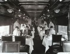 110 best vintage railroad dining cars images on pinterest train travel pullman car and trains. Black Bedroom Furniture Sets. Home Design Ideas