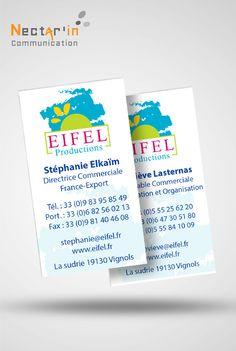 Cartes De Visites Eifel Productions