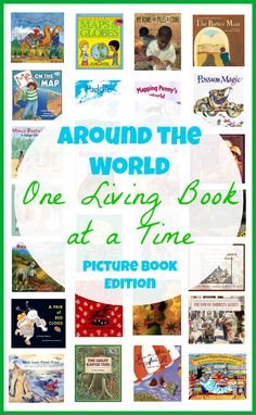 A link to: AROUND THE WORLD UNIT STUDY with living literature