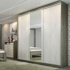 O guarda roupa é fundamental para a decoração e ainda te ajudar a organizar o quarto. #Prod145619
