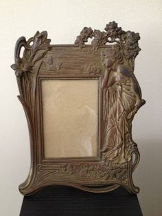 Art Nouveau Frame by OakForestAntiques on Etsy