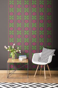 Tyles vinyl decal backsplash and wall decor product in City Park pattern. Great for kitchens, bathrooms, or any wall in your home or business.