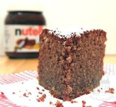 Schoko-Nuss-Kuchen mit Quark - schön locker und saftig