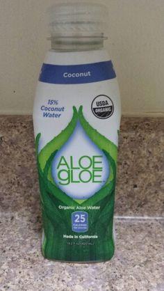 Aloe Gloe Organic Aloe Coconut Water - Priscilla De Leon
