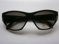Black Retro Sunglasses 80s Style Glasses Design Vintage New 80 eighties Nerd 3