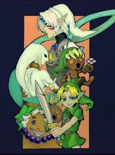 The Legend of Zelda - Majora's Mask ♡
