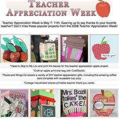 16 diy teacher appreciation project tutorials.