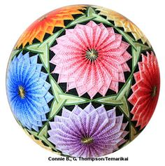 Temari Pattern CB01 on TemariKai.com