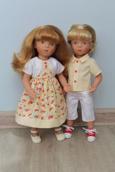 Солнечный комплект для парочки Минуш! / Одежда для кукол / Шопик. Продать купить куклу / Бэйбики. Куклы фото. Одежда для кукол