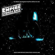 """""""The Empire Strikes Back"""" (1980, RSO).  Music from the movie soundtrack."""
