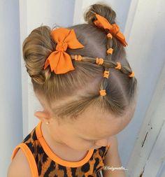 Easy Toddler Hairstyles, Kids Curly Hairstyles, Flower Girl Hairstyles, Easy Little Girl Hairstyles, Girls Hairdos, Hair Dos, Natural Hair Styles, Long Hair Styles, Long Layered Hair