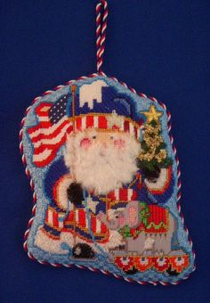 Shopping Santa ~ Canvas by Strictly Christmas | Christmas ...