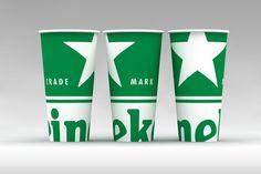 Бумажный стакан, Heineken от рекламного агентства Fishkey