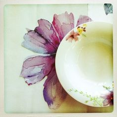 Villeroy and Boch's new watercolours-inspired range. Picture by @Vanessa Colyer Tay.