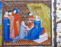 Grandes chroniques de France, MS M.536 fol. 2r - Images from Medieval and Renaissance Manuscripts - The Morgan Library & Museum
