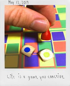 LIFE IS A GAME YOU CONCEIVE #fate #karma #decision #life #dice #game #board #colours #fingers #sinistrality #lefthanded The Underdogs, Conceiving, Left Handed, Dice, Karma, Fingers, Colours, Games, Board