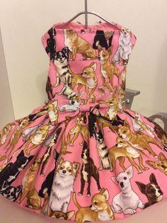 Chihuahua and more Chihuahua's Dog Dress