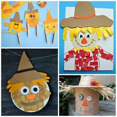 Scarecrow Crafts for Kids to Make this Fall - Crafty Morning