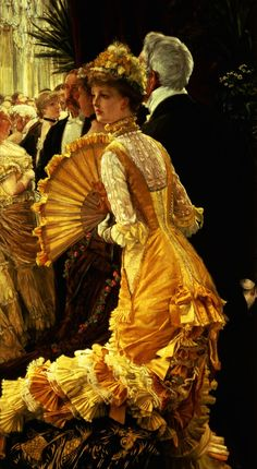 James Tissot - The Ball - James Tissot — Wikipédia