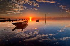 Lovely Sunrise Reflection by Endra Sunarto on 500px