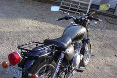 Suzuki TU250 with Manrack