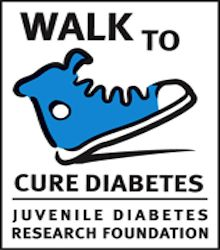 JDRF Walk to Cure Diabetes – :)Going tomorrow to support my friend who is an amazing person and doesn't let the fact that she has type 1 diabetes bring her down! Together we will find a cure for diabetes! ❤️
