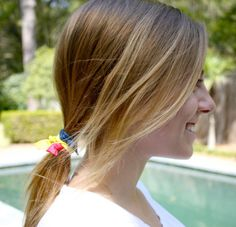 The Perfect Ponytail Holder by Preppy Pieces  20 by preppypieces, $16.00 #preppy #ponytail #accessories #hair #fashion #christmas #gift #women #girls