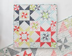 Down South Mini Quilt Pattern - SheQuiltsAlot