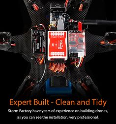 Made for Professional Aerial Filming, small enough for carrying around. Presenting the portable Storm Drone 6 GPS Flying Platform (V3) w/ NAZA Lite GPS   inReady to FlyPackage Love those beautiful aerial footage taken with Mu