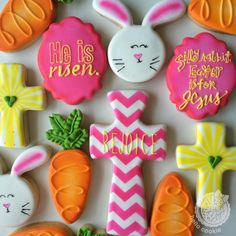 Celebrate Easter with the best Easter cookies. Here are the best Easter Sugar Cookies ideas. These Easter cookies decoration with royal icing are so cute. Sprinkle Cookies, Iced Cookies, Cute Cookies, Easter Cookies, Sugar Cookies, Fancy Cookies, Sugar Cookie Royal Icing, Cookie Frosting, Chocolates