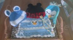 Complete Newborn/Boys Set by crochetcraziehand on Etsy