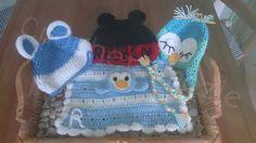 Complete Newborn/Boys Set by crochetcraziehand on Etsy