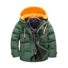 57046d863cd New 2016 Winter Children Boys Jacket Warm Hooded Winter Coat for Boys Kids  Down Coat