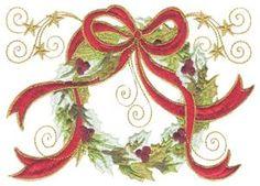 Christmas Wreath (5x7)