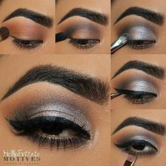 Sultry eyes tutorial is giving us life  Here's how to get the look: -Apply Motives eye base all over eye lid -Apply CARAMEL above the crease as a transition shade -Apply NUVO (My Party Weapon) on the crease and outer corner of lid -Apply STUDIO (My Party Weapon) on the lid -Create a wing using a LITTLE BLACK DRESS -Apply NUVO (My Party Weapon) on the lower lash #makeuptutorial #motd #eotd #mua #customblend #makeup #mua #customfoundation #beauty #motivescosmetics #makeupaddict #beautybl...
