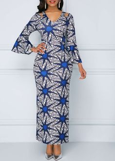 Sexy Dresses, Club & Party Dress Sale Online Page 5 Sewing Dresses For Women, African Dresses For Women, African Attire, African Fashion Dresses, Dress Fashion, Dress Sewing, Club Party Dresses, Spandex Dress, African Print Fashion