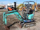 2008 IHI 9NX2 Mini Excavator Rubber Tracks Track Backhoe Dozer Blade Diesel Aux