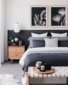 Best Scandinavian Bedroom Interior Design Ideas - Home Design Dream Bedroom, Home Decor Bedroom, Modern Bedroom, Contemporary Bedroom, Bedroom Ideas, Bedroom Inspo, Bedroom Designs, Bedroom Simple, Bedroom Curtains