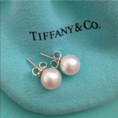 a3af28163 ZIEGFELD COLLECTION PEARL EARRINGS Tiffany & Co. Ziegfeld collection