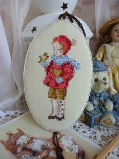 Ручная работа от Юльки-Шпульки: Винтажные елочные украшения с вышивкой