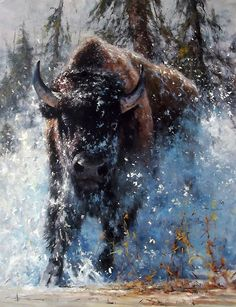 'Charge' - Oil on Canvas By Robert Hagan by robert-hagan.deviantart.com on @deviantART