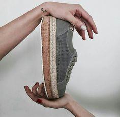 New arrival! #Sneakers Sixtyseven con suelas de esparto y corcho.