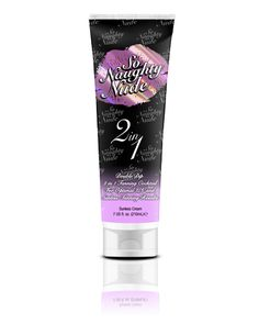 For Optimal UV and Sunless Tanning Results  So Naughty Nude's™ 2 in 1 is formulated for the tanner who wants it all! This revolutionary lotion can be used in UV tanning equipment as well as sunless tanning units for those who want the best of both words. No need for multiple products, So Naughty Nude's™ 2 in 1 tightens, tones, hydrates and prepares skin for optimal dark tanning results. Need to be dark in a day? 2 in 1 will take you there.