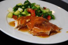 Crock Pot Sweet and Sour Garlic Chicken Recipe – 6 Points + - LaaLoosh
