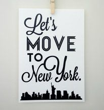 NY represent! Print by Sacred and Profane via Luvocracy.