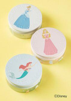 「スチームクリーム」に「ディズニー・プリンセス」のデザイン缶が新登場!
