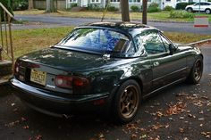 NA Mazda Miata - BRG with Bronze Wheels