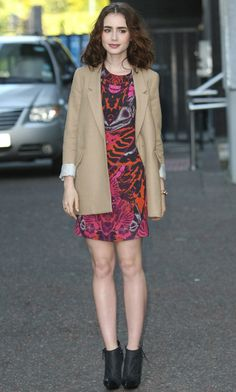 Lily Collins - style inspiration